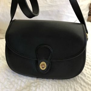 Vintage Coach Leather Shoulder Bag